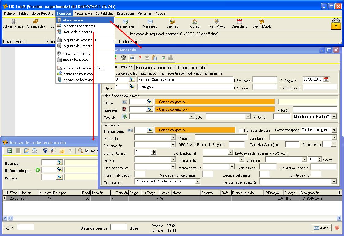 HCLab - Software de gestión de laboratorios de calidad
